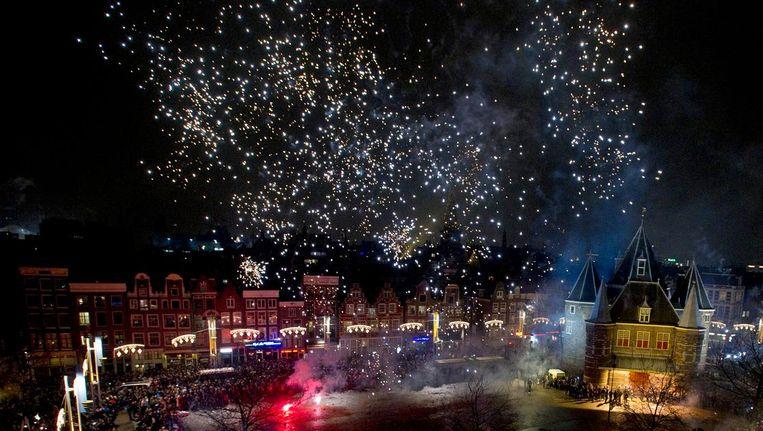 Amsterdammers gaan het RIVM helpen door het fijnstofgehalte te meten. Beeld anp