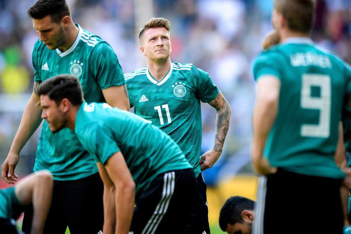 Duitsland bereidt zich voor op het EK-kwalificatieduel met Wit-Rusland.