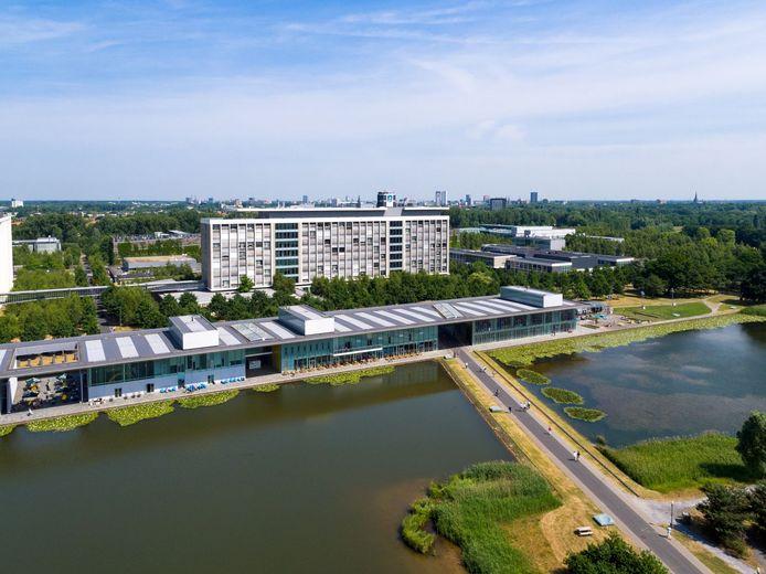 De High Tech Campus in Eindhoven, waar onder meer de hoofdkantoren van NXP, Signify en Philips Nederland zijn gevestigd.