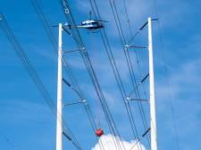 'Vlaggetjes' aan elektriciteitsmast moeten voorkomen dat vogels zich doodvliegen: 'Geeft een hoop overlast'