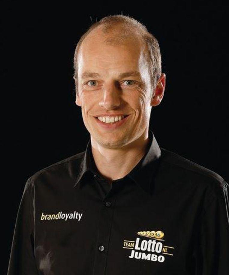 Mathieu Heijboer, high-performancemanager bij Lotto-Jumbo. Beeld