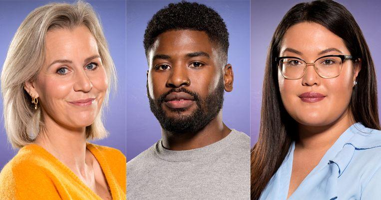 Daniëlle, Jowi en Nathalie verlieten het 'Big Brother'-huis Beeld Play4