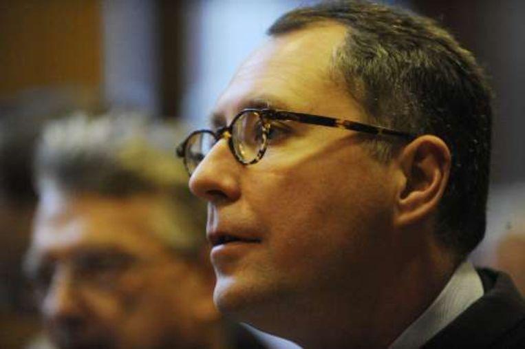 Mischaël Modrikamen en zijn 2.000 misnoegde Fortis-aandeelhouders kregen over de hele lijn gelijk. Beeld UNKNOWN