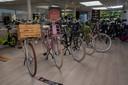 Voortaan geen auto's maar elektrische fietsen in de toonzaal