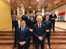 Geert Wilders presenteert team Overijssel