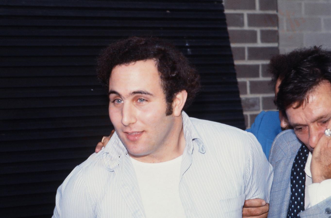 Seriemoordenaar David Berkowitz.