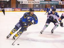 Trappers' man-of-the-match Diego Hofland: 'Ik stond toevallig op de goede plaats'