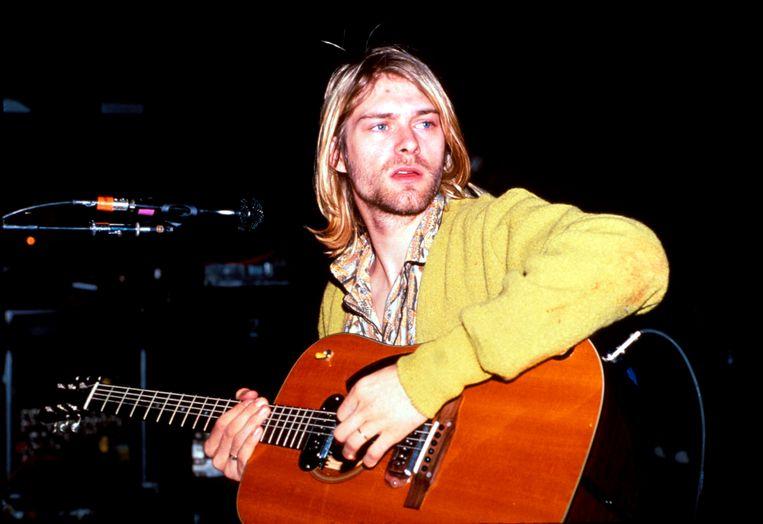 Kurt Cobain. Beeld WireImage