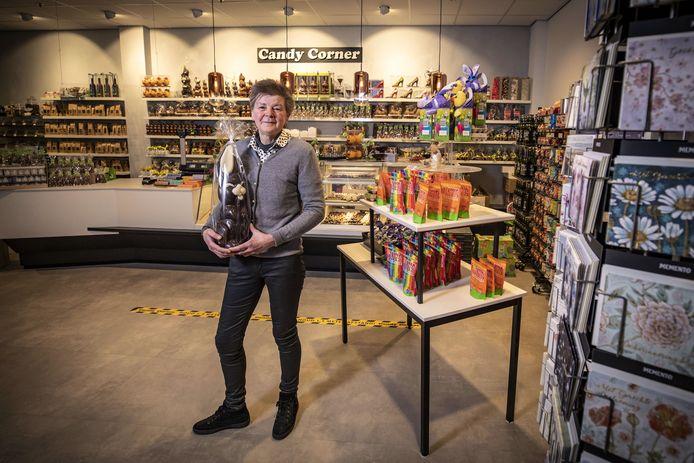 Candy Corner bestaat 25 jaar. Fride Kok heeft de winkel al die tijd in haar eentje gerund.