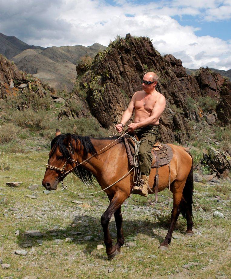 In 2009: Paardrijden in Siberië.