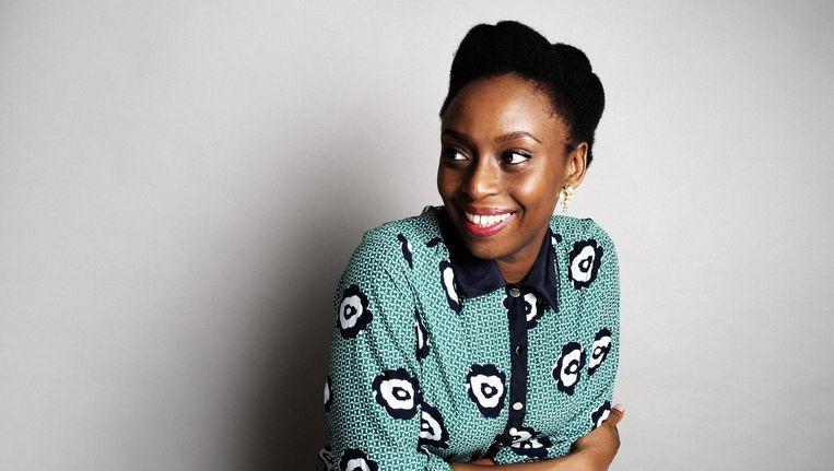 Chimamanda Ngozi Adichie: 'Ik was geschokt over de hoeveelheid interviewverzoeken die binnenkwamen nadat het nummer was uitgebracht' Beeld Lakin Ogunbanwo