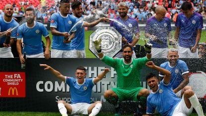 De Bruyne klopt Origi in Engelse Supercup: penalty's beslissen prestigeslag