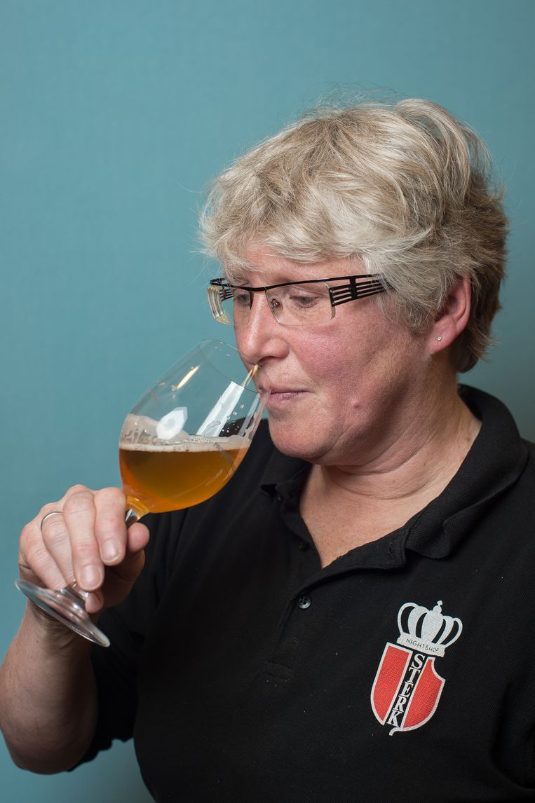 Helma Brian (54) van Sterk Avondverkoop. Beeld Mats van Soolingen