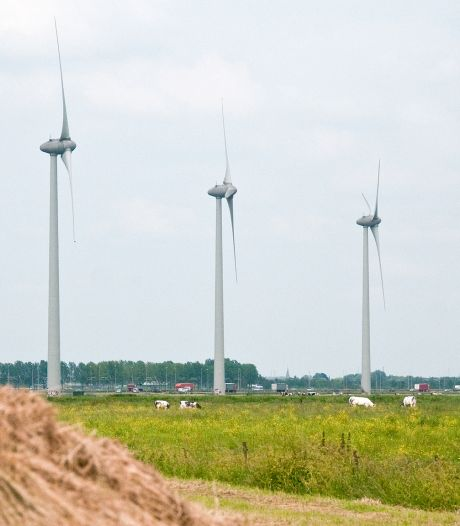 Neder-Betuwe wil grotere windmolens naast A15