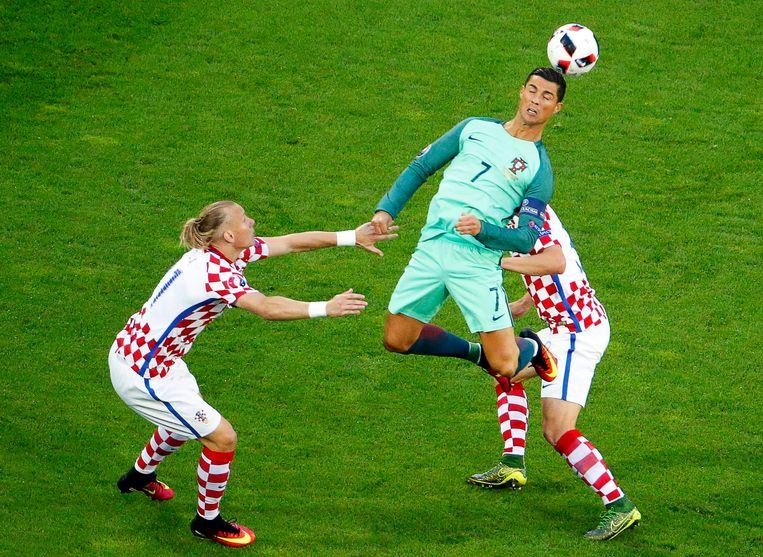 Ronaldo werd nooit in stelling gebracht Beeld EPA