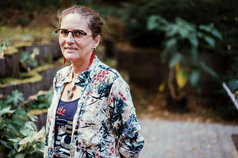 Anne-Mieke Van Damme. 'De regel van vijftien wisselende contacten was eigenlijk geen maatregel: dat was voedsel geven aan de epidemie.' Beeld © Stefaan Temmerman