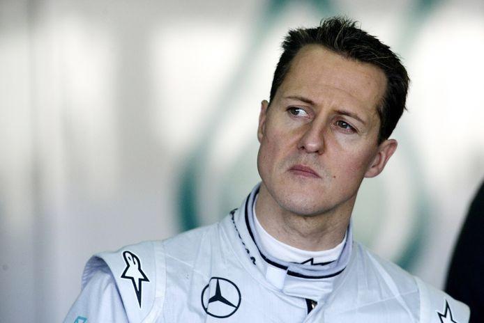 Michael Schumacher in 2010.