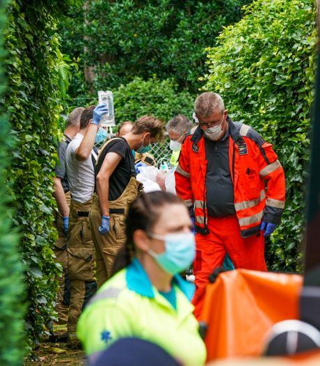 Man overleden bij schuurbrand in Someren, politie doet onderzoek
