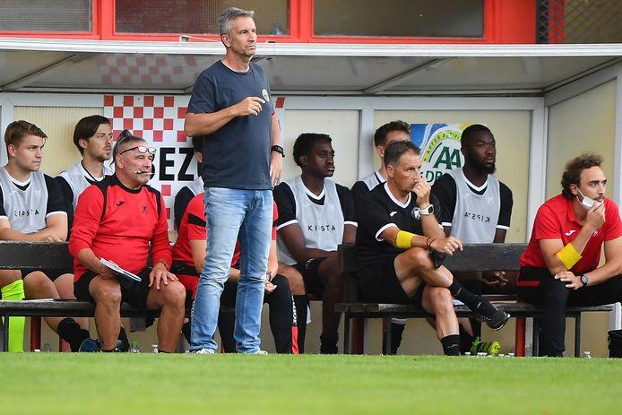 De Aalststerse coach Carl De Geyseleer is globaal bekeken tevreden over de oefencampagne tot dusver.