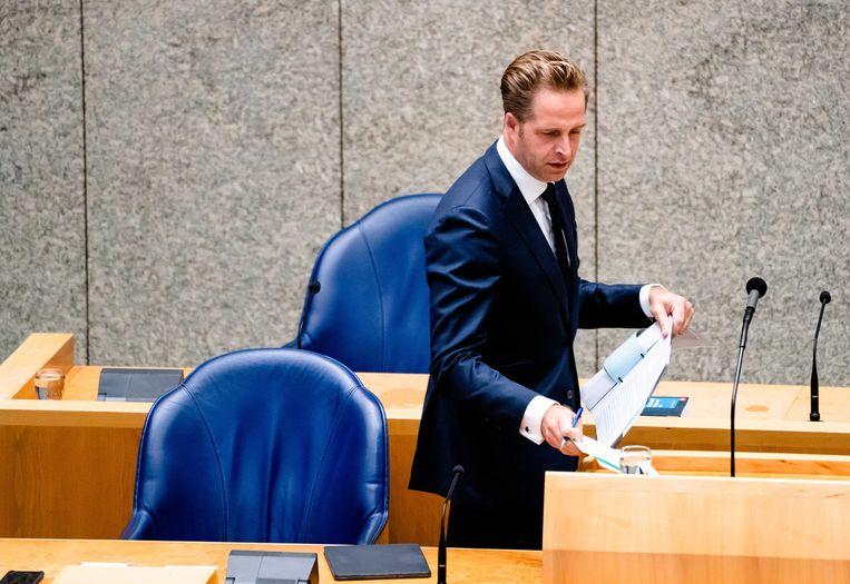 Minister Hugo de Jonge van Volksgezondheid, Welzijn en Sport (CDA).  Beeld ANP