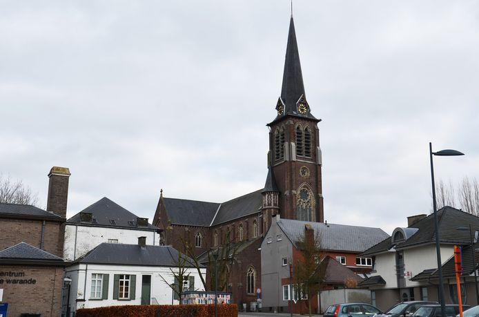 De kerk van Haaltert.