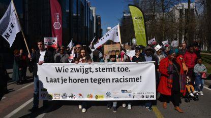 Bijna 4.000 mensen op straat in Brussel om te betogen tegen racisme