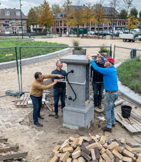Prinsenbeek heeft z'n waterpomp terug - maar pompen doet-ie nog altijd niet
