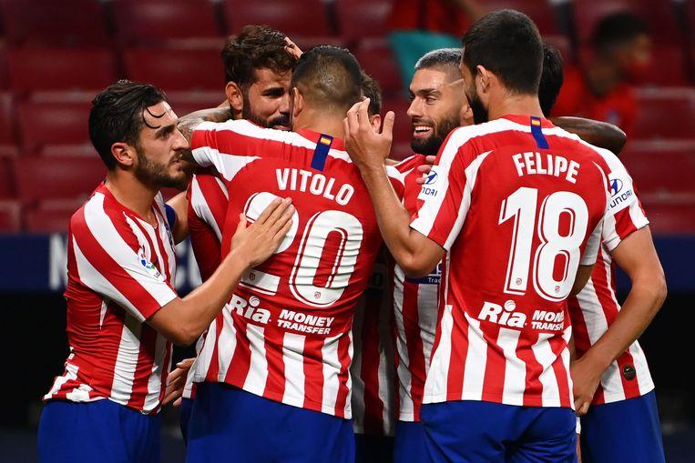 Diego Costa kopte de enige goal van de avond binnen.