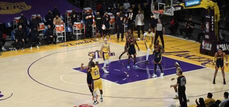 """Avec un shoot venu d'ailleurs, LeBron James joue les sauveurs: """"Je voyais trois paniers"""""""