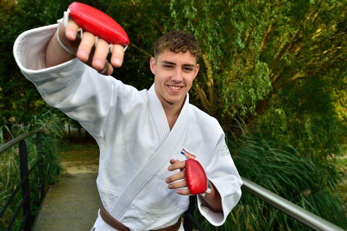 Ruben Raghunath debuteert komend weekeinde op het EK jiu jitsu onder 18 jaar.