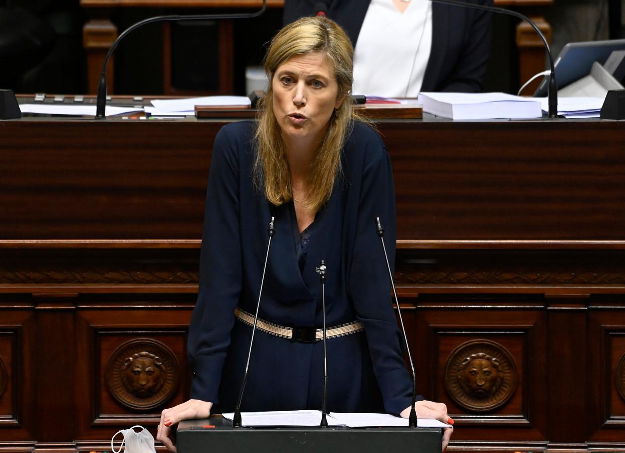 La ministre de l'Intérieur Annelies Verlinden (CD&V)