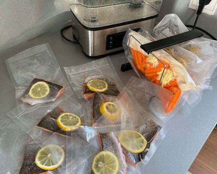 Een sous-vide-apparaat kun je gebruiken voor vlees, vis en groenten.