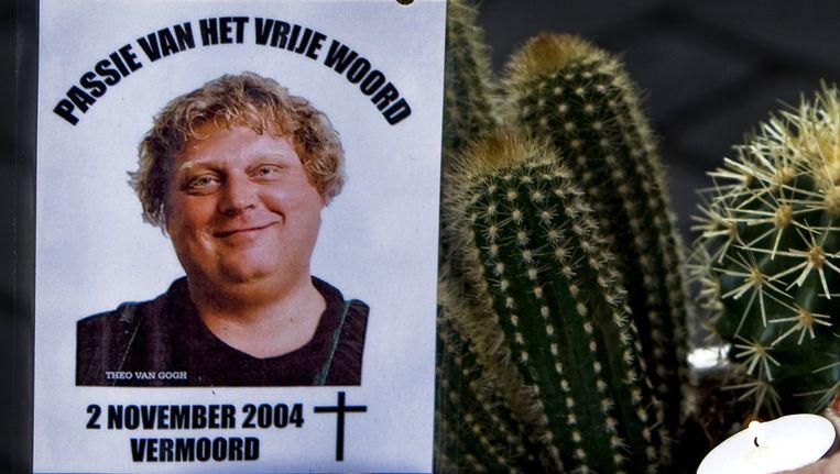 Theo van Gogh werd op 4 november 2004 op de Linnaeusstraat vermoord. Beeld anp