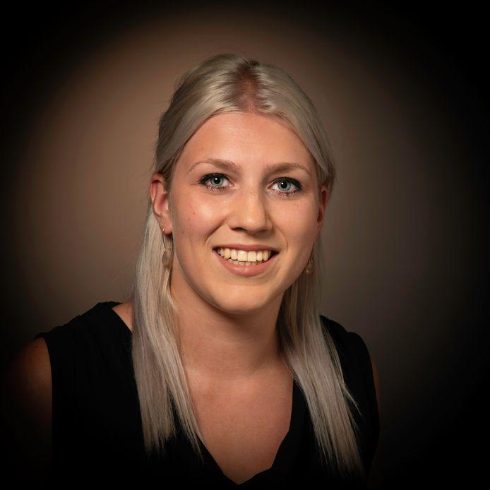 Het Oisterwijkse raadslid Marieke Moorman (PGB)