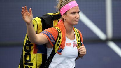 Bonaventure niet voorbij Pliskova in Indian Wells - Wickmayer naar achtste finales in Mexico