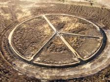 Landschapskunst met diepere laag: Loopgraaf voor de Vrede