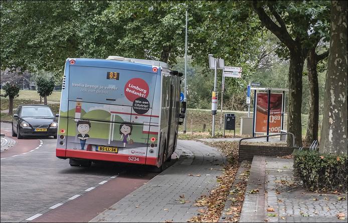 De halteplek aan de Zuid-Oostwal in Gennep wordt verplaatst.