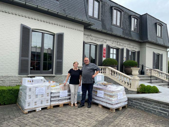 Stefaan Van Steenberge en Ilse Vander Meeren van L'homard Bizarre.