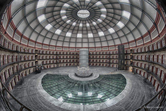 Het cellencomplex van De Koepel, waar Prison Escape vanaf april zijn intrek neemt.