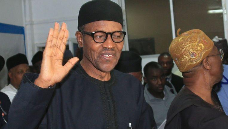 Muhammadu Buhari. Beeld anp