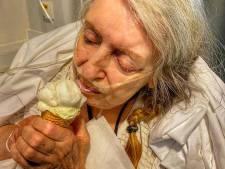 Vrouw met een ijsje als laatste wens ontroert velen: 'Wat stralen haar ogen als we het ijsje geven'