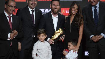 """Messi neemt zesde Europese Gouden Schoen in ontvangst: """"Een trofee voor de hele kleedkamer"""""""