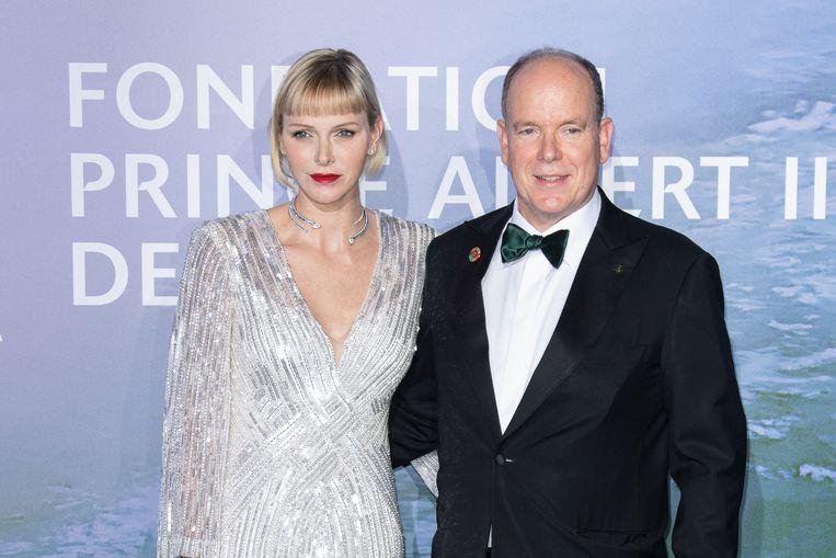 """Prins Albert ontkracht geruchten over zijn Charlene: """"Ze vertrok niet naar Zuid-Afrika omdat ze boos was op mij"""" Beeld Corbis via Getty Images"""