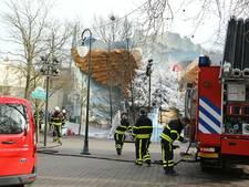 Kerstboombrand in Efteling waarschijnlijk ontstaan door overgeslagen vlam uit kampvuur