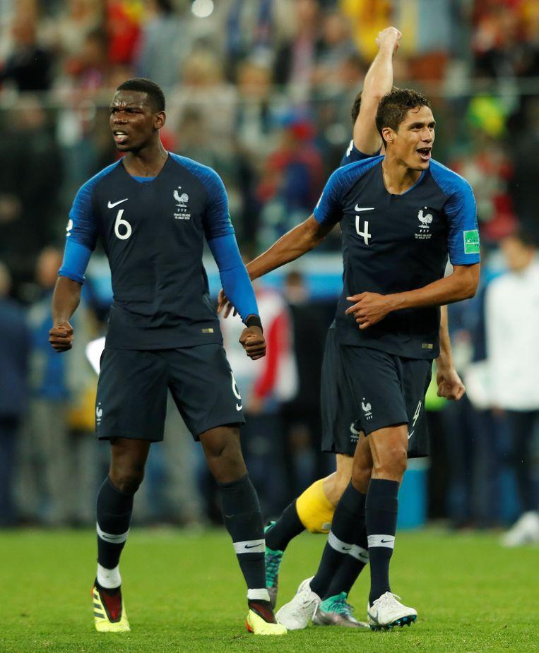 Lof voor Pogba en Varane van Mourinho.