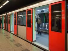 Metrostation Amsterdam beschadigd na plofkraak