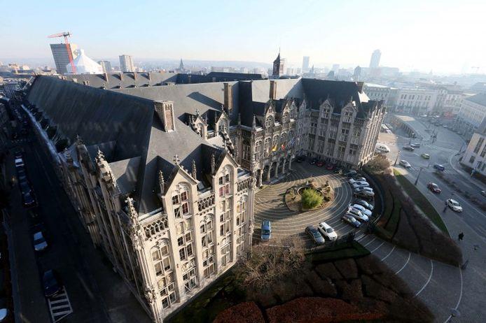 Palais provincial, à Liège.