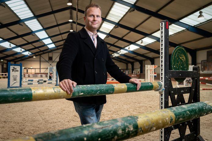 Joris van den Oetelaar, eigenaar van manege De Molenheide in Schijndel.