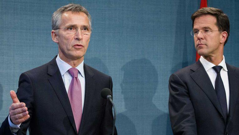 Volgens Stoltenberg gaat Rusland door met het 'destabliseren' van Oekraïne. Beeld anp
