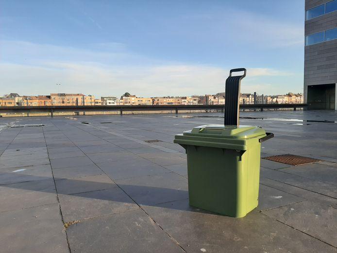 De kleine gft-container is vooral populair bij mensen die alleen wonen en bij mensen die geen tuin hebben.